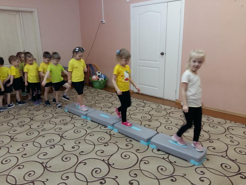 Применение степ-платформ на физкультурных занятиях