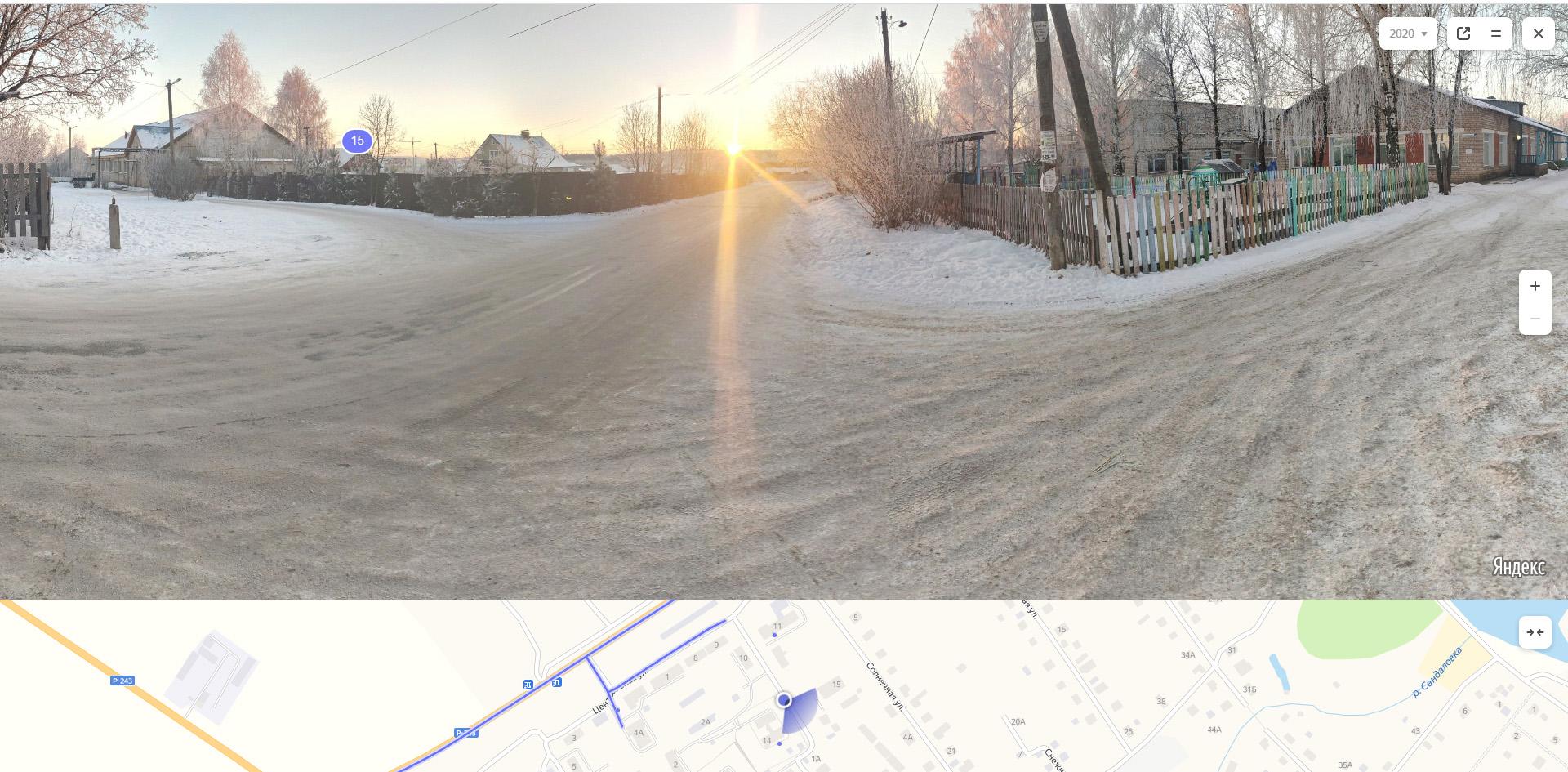 Панорама 3Д возле садика
